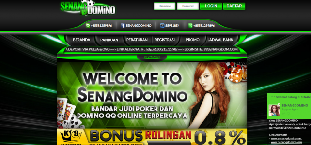Alternatif Daftar Senangdomino - Link Login Senangdominoqq